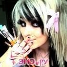 emo girl фото