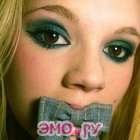 эмо глазки и губки бантиком