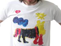 Дизайнерская футболка своими руками